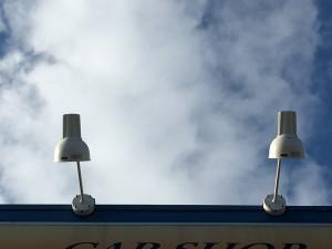 LED照明交換後